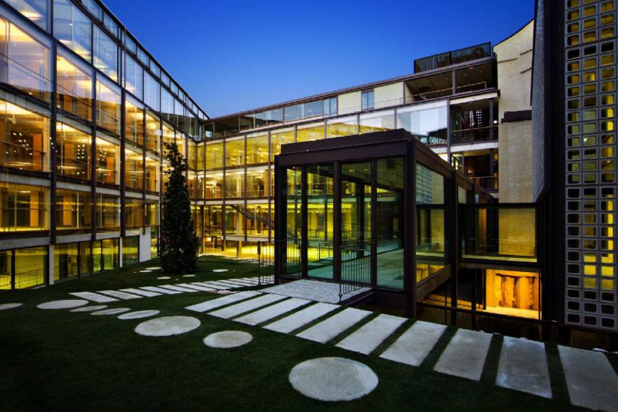 La sede arquitectos de madrid planta de acceso - Arquitectos en madrid ...